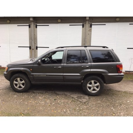 Jeep, Grand Cherokee, 2,7 CRD Limited, Diesel, aut., st. car., 2002